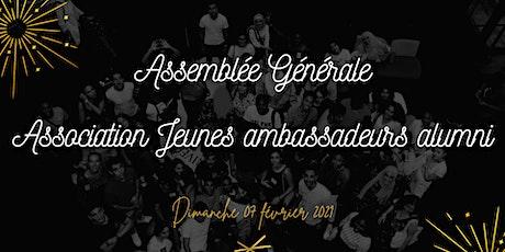 Assemblée Générale de l'association Jeunes ambassadeurs alumni billets