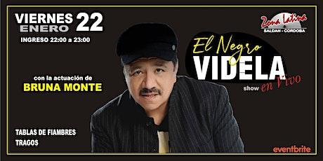 EL NEGRO VIDELA - SHOW ACÚSTICO entradas