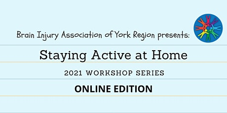 Staying Active at Home - 2021 BIAYR Online Workshop Series tickets