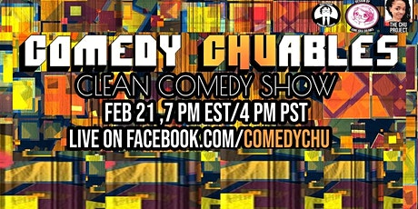 Comedy CHUables clean comedy show tickets