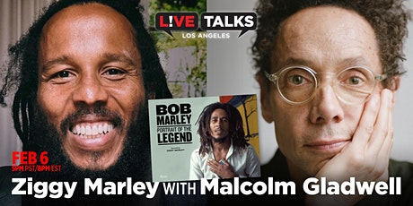 Ziggy Marley in conversation with Malcolm Gladwell tickets