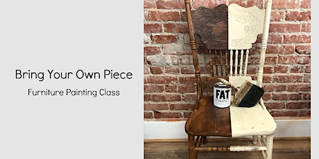 Virtual BYOP Furniture Painting Class tickets