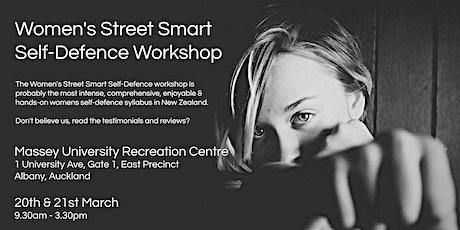 Women's Street Smart Self-Defence Workshop - Massey University, Albany tickets