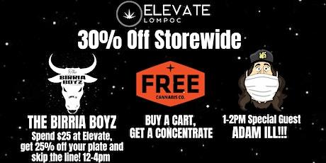 Elevate  30% Off Sale & Birria Boyz tickets