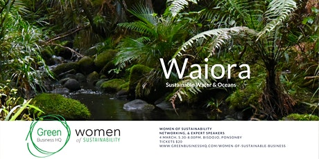 Women of Sustainability: Waiora - Water & Oceans tickets