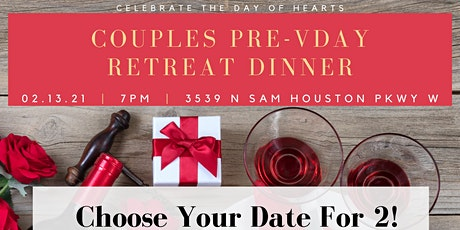 Couple's Pre-Vday Retreat Dinner tickets