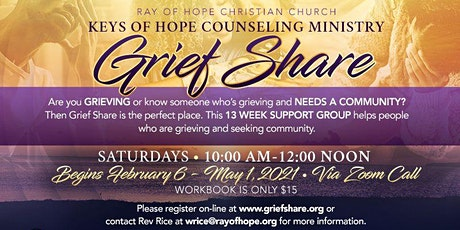 Grief Share tickets
