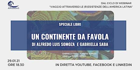 """Presentazione del Libro """"Un Continente da Favola"""" biglietti"""