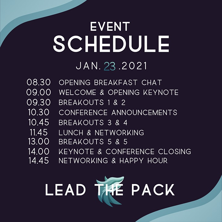 WCEAN Presents: Lead The Pack 2021 image