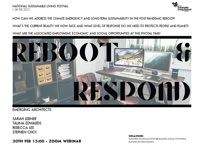 Emergent architects rebooting and responding image