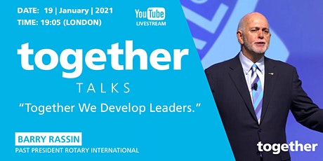 """Together We Develop Leaders"" With Barry Rassin tickets"