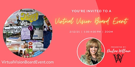 Virtual Vision Board Event tickets
