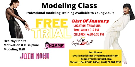 Free Modelling Trial for Adults tickets