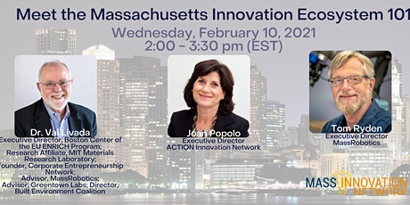 Meet the Massachusetts Innovation Ecosystem 101 tickets