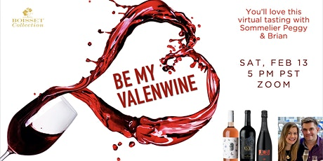 Virtual Wine Tasting with a Sommelier for Valentine's: have fun & learn! tickets