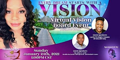 Dr Shante Virtual Vision Board Extravaganza (Encore Event!) tickets