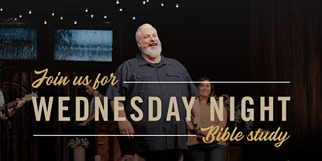 Wednesday Night Bible Study, January 20th 7:00pm Indoor Service tickets