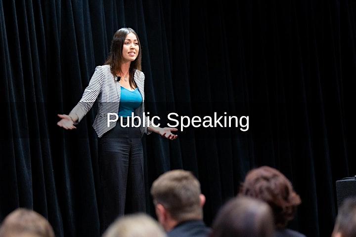 Public Speaking Like a Boss! Masterclass January 2021 image