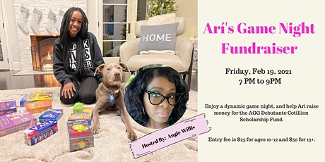 Arí's Game Night Hosted By Angie Willis tickets