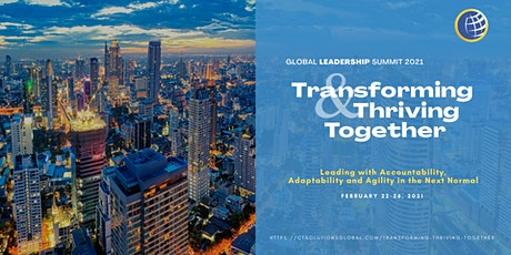 Global Leadership Summit: Transforming and Thriving Together Tickets