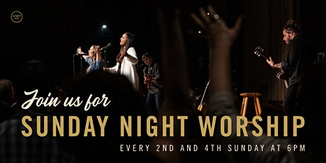 Sunday Night Worship, January 24th 6:00pm Indoor Service tickets