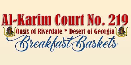 Al-Karim Presents Breakfast Baskets tickets