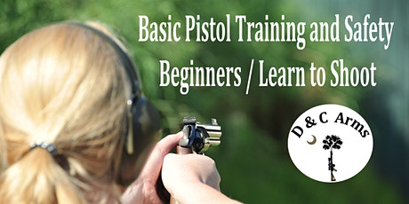 Basic Pistol Training & Safety  Beginners / Learn to Shoot in Lexington, SC tickets