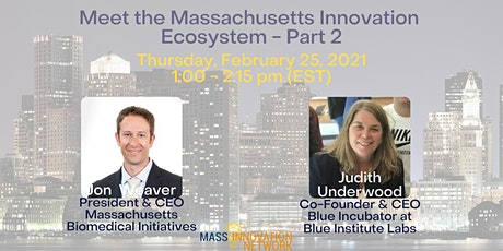 Meet the Massachusetts Innovation Ecosystem - Part 2 tickets