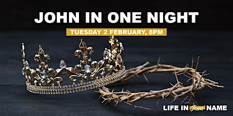 John in One Night tickets