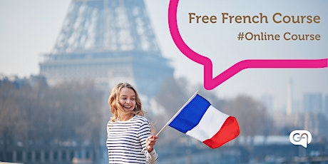 Free Online French Course tickets