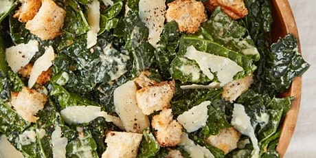 UBS - Virtual Cooking Class: Kale and Endive Caesar Salad tickets
