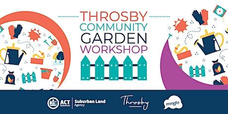 Throsby community garden workshop tickets