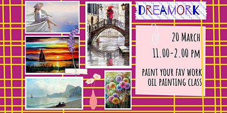 DREAMWORK - oil painting social workshop. tickets