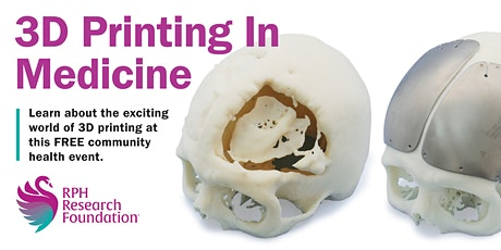 3D Printing in Medicine tickets