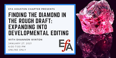 Finding the Diamond in the Rough Draft: Developmental Editing tickets
