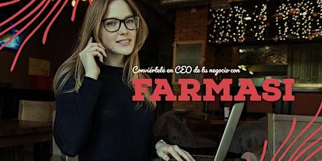 Conviértete en CEO de tu negocio con FARMASi boletos