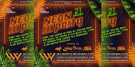 GLOW PARTY @ IVY LEAGUE THURSDAYS | JAN. 21ST tickets