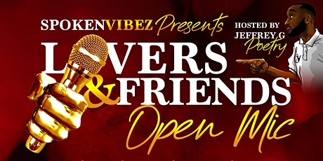 SPOKEN VIBEZ: LOVERS & FRIENDS edition tickets