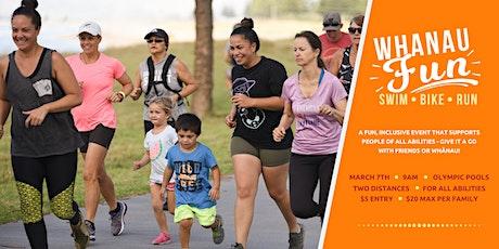 Whānau Fun 2021 - an ALL abilities swim, bike, run! tickets