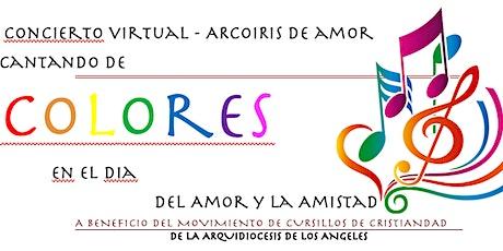 Arcoíris de Amor - Cantando de Colores entradas