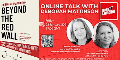 Online talk with Deborah Mattinson tickets