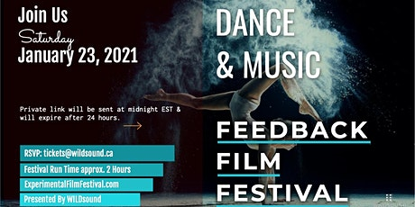 Dance & Music Film Festival. FREE EVENT. Sat. Jan. 23rd - STREAM all day tickets