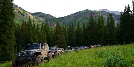 6 Different Off-Road trails. A Colorado  Overlanding Adventure tickets