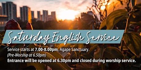 English Saturday Service (30 Jan) tickets