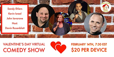 Valentine's Day Virtual Comedy Show tickets