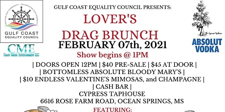 Lover's Drag Brunch tickets