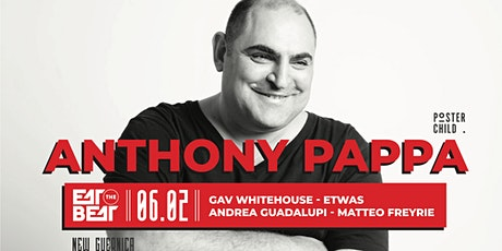 Eat The Beat Presents : ANTHONY PAPPA tickets