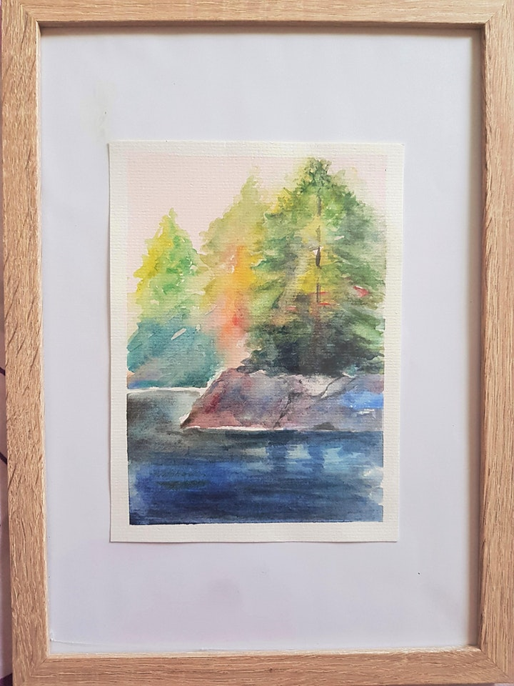Watercolour Painting  Course - Beginners starts March 1 (8 sessions) image