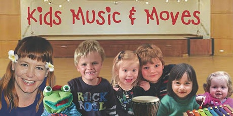 Kids Music and Moves - individual classes & term ticket sales tickets