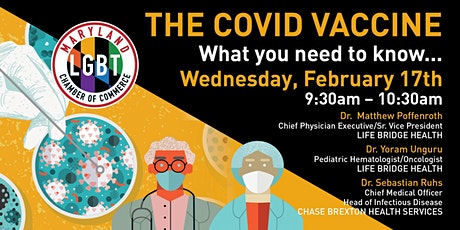 The COVID Vaccine: What you need  to know tickets